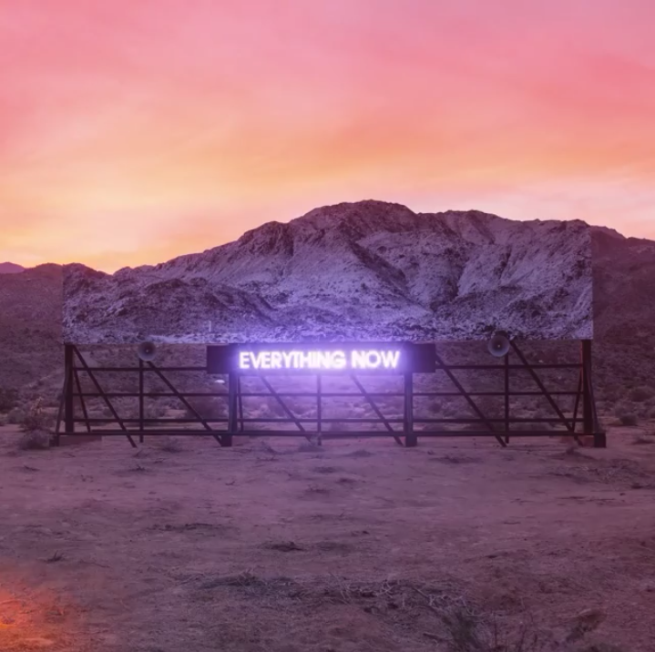 neon, everything now, and arcade fire image