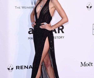 Alessandra, black, and Victoria's Secret image