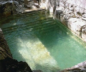pool, water, and nature image