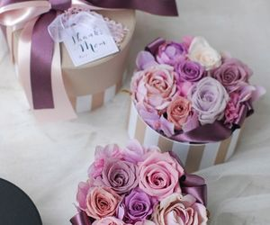 floral, flowers, and gift image