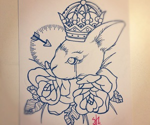 art, design, and tattoo image