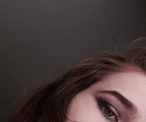 aesthetic, dark, and eyebrows image