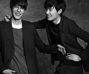 kim woo bin, lee jong suk, and korean image