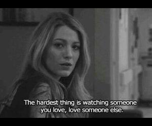 love, sad, and gossip girl image