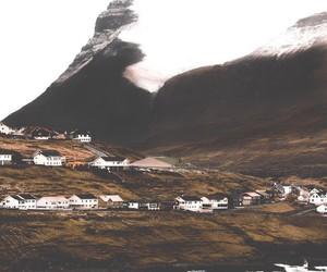 adventure, faroe islands, and landscape image