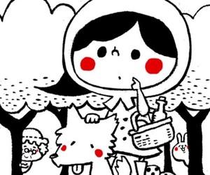 bird, usagi, and bunny image