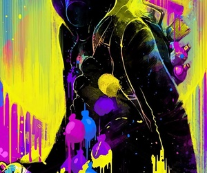 boy, colours, and wallpaper image