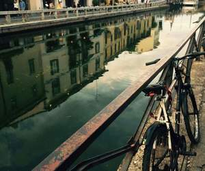 beautiful, bicycle, and landscape image