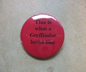 gryffindor, red, and aesthetic image