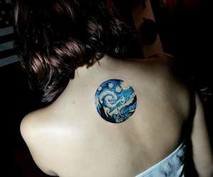 art, color, and tatto image