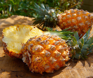 fruit, pineapple, and food image
