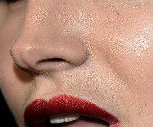 lana del rey and mustache image