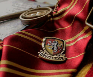 gryffindor, harry potter, and hogwarts image