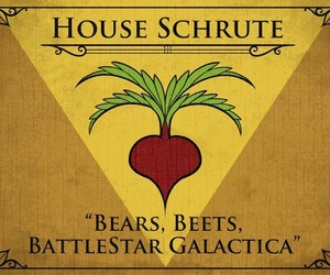 battlestar galactica, bears, and beets image