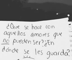frases, corazón roto, and amor imposible image