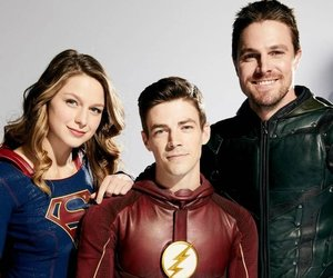 arrow, Supergirl, and superheroes image