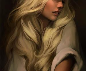 art and blonde image