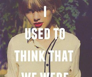 Taylor Swift, quote, and forever image