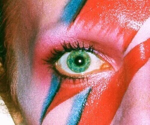 david bowie, bowie, and eye image
