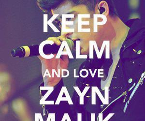 zayn malik, one direction, and keep calm image