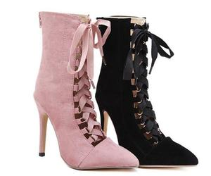 ankle boot, black, and boots image