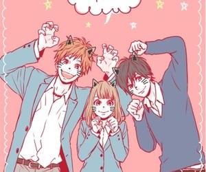 manga, manga girl, and orange image