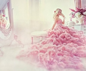 pink and gown image