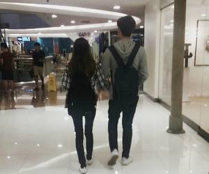 couple, ulzzang, and asian couple image