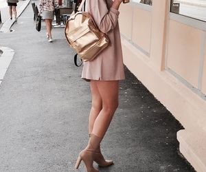 fashion, beauty, and boots image