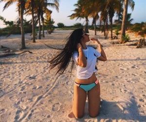 beach girl tumblr image