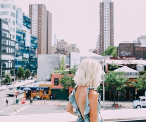 back, aspyn ovard, and blue dress image