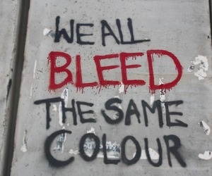 blood, quote, and bleed image