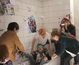 bathtub, bts, and episode image