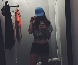 fashion, girls, and hat image