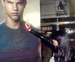 clever, Taylor Lautner, and fucking bitch image