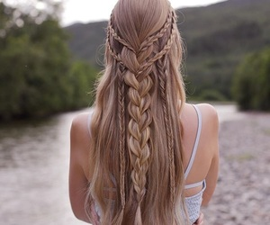 beautiful, hairstyles, and design image