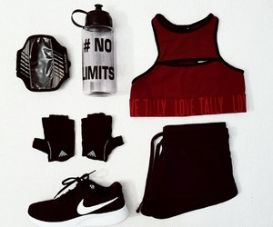 fit, girl, and nike image