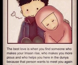love, islam, and muslim image
