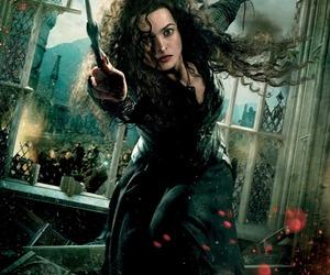 harry potter, bellatrix, and bellatrix lestrange image