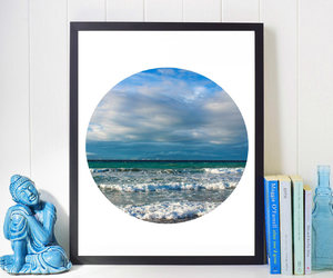 etsy, seascape, and coastal wall art image