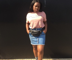 black girl, fashion, and street style image
