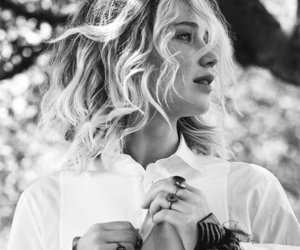 Jennifer Lawrence and vogue image