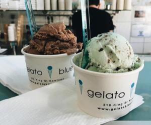 food, ice cream, and gelato image