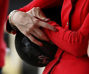 equestrian, red, and show jumping image