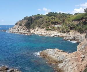 mediterranean, spain, and costa brava image
