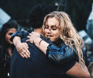 the 100, bellarke, and bob morley image