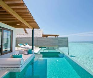 Maldives, holidays, and ocean image
