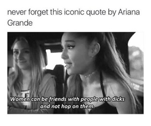 ariana grande, quotes, and friends image