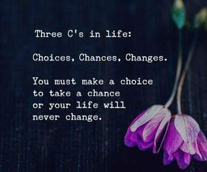 chance, change, and choice image