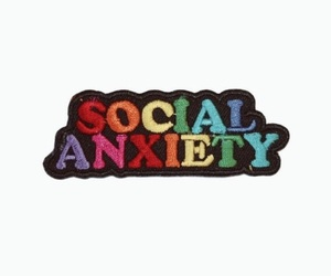 social anxiety image